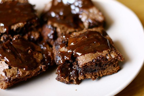 brownies, chocolate, food, photography, yum
