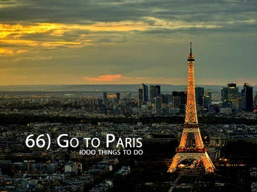 bucket list, france, paris, travel