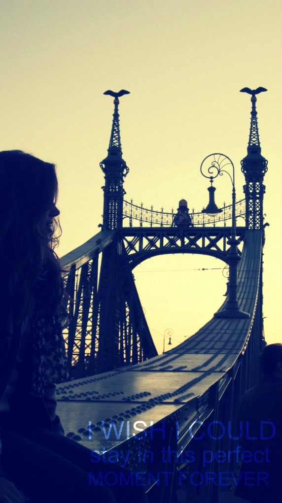 budapest, far away, free, girl, moment