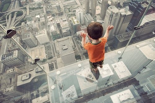 buildings, child, city, looking, photography