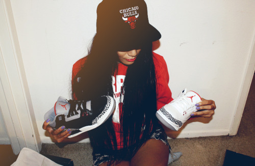 bulls, chicago, dope, girl, jordan