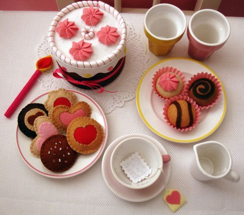 cakes, cookies, cupcakes, cute, pink