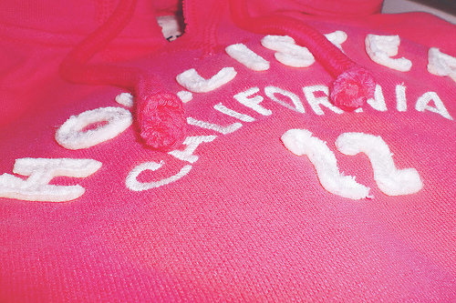 california, cute, girly, hollister, pink, shirt