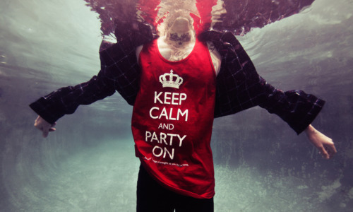 calm, fashion, party on, t-shirt