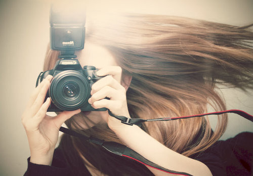 camera, fashion, girl, happy, mode