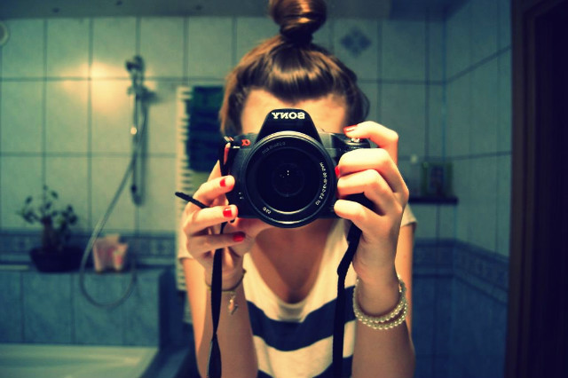 camera, fashion, girl, nails, photography