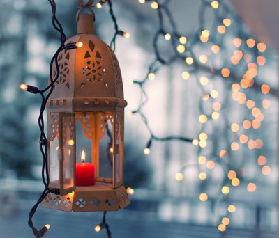 candle, christmas, lantern, lights, photography