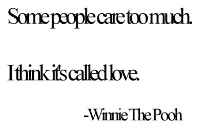 car, love, pooh, quote, text