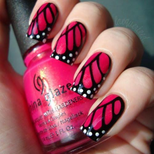 china glaze, nail art, nails