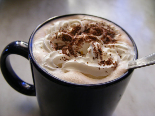 chocolate, foam, food, hot, yummy