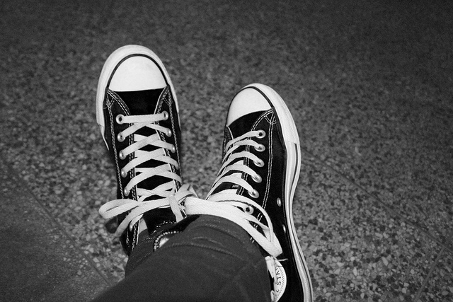 chucks, converse, cool, feet, indie