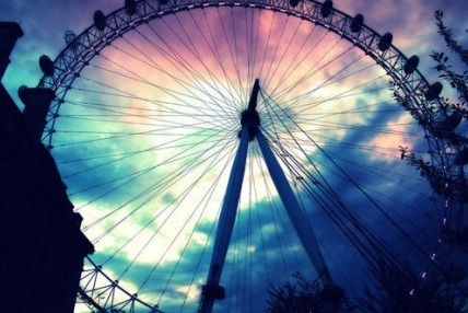 cities, city, cool, london, london eye