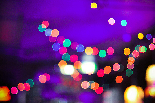 city, city lights, city night lights, colorful, lights