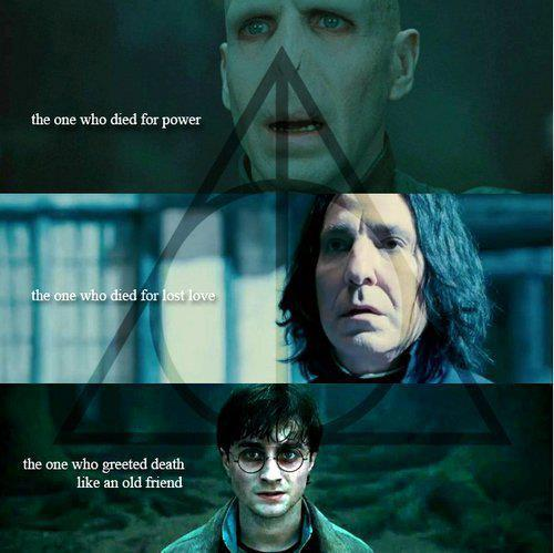 cloak of invisibility, deathly hallows, harry potter, resurrection stone, severus snape, the elder wand, tom riddle, voldemort