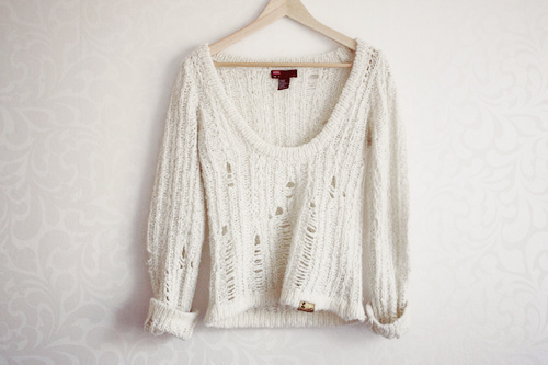 clothes, fashion, knitted, love, snygg, style, sweater, top, white