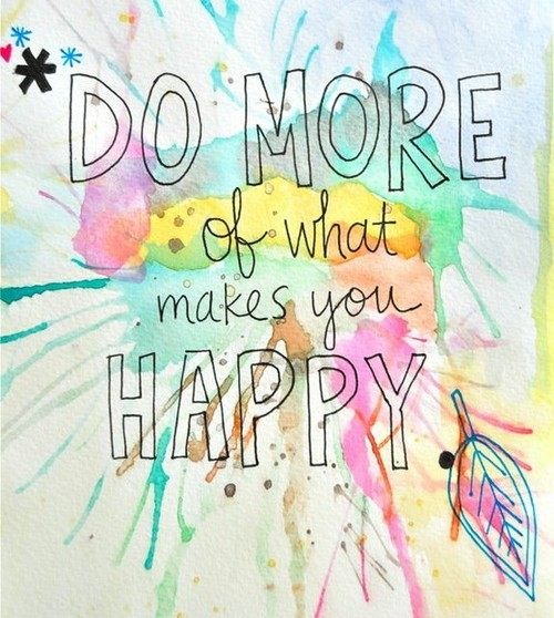 color, happy, inspirational, text