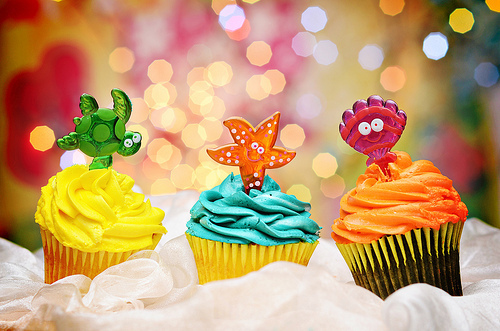 colorful, cupcake, cute, food, photography