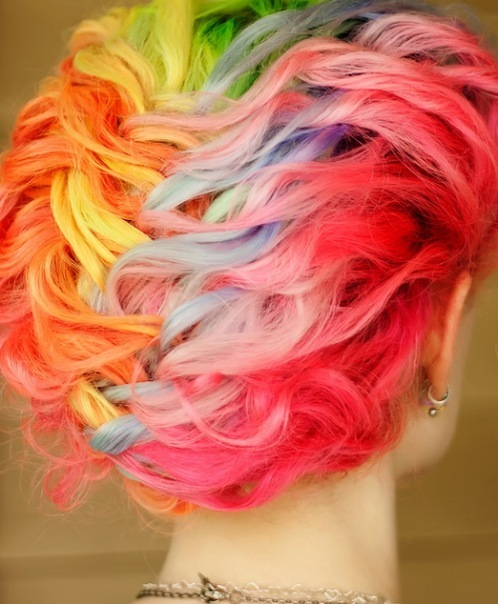colors, fashion, hair, style