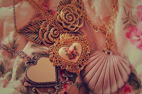 colors, heart, necklace, photography, text