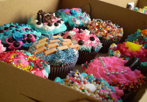 colours, cup cakes, cupcakes, photography, sweet