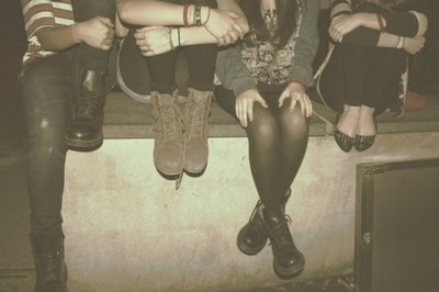 combat boots, girls , shoes, style