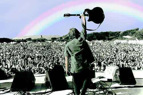 concert, hippie, rainbow, rock