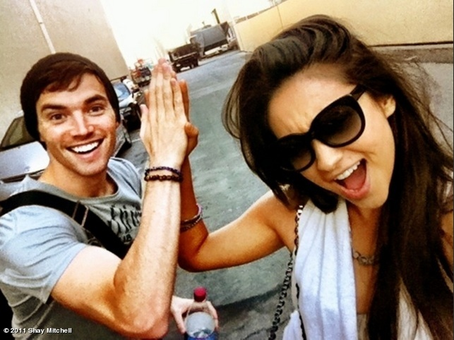 cool, friends, ian harding, nice, pll cast