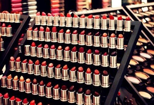 cosmetics, lips, lipstick, make up, make-up, pink, purple, red, store