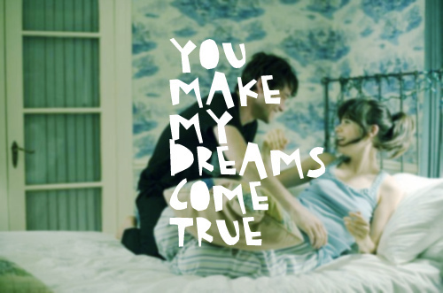 couple, cute, dreams, love, note, quote, typography
