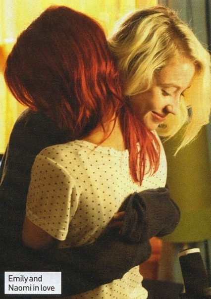 couple, cute, lily loveless, love, lovely, naomily, skins