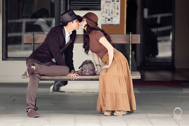 couple, cute, love, vintage