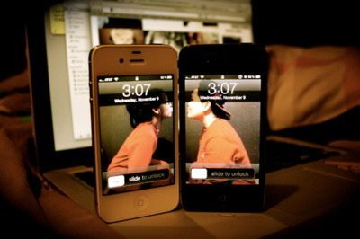couple, iphone, kiss, love