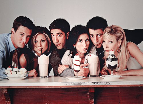 courteney cox, david schwimmer, friends, jennifer aniston, lisa kudrow, matt leblanc, matthew perry, people, photography, serie, yum, yummie