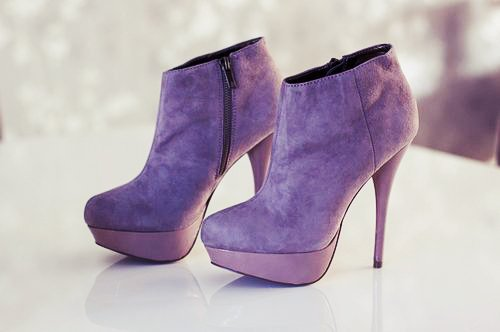couture, fashion, glam, heels, photography, pretty, purple