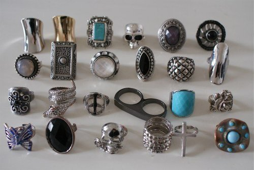 cross, hipster, jewlery, metal, ring