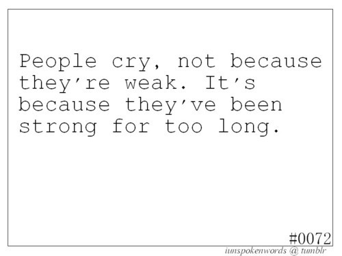 cry, depression, girl things, quote, sad
