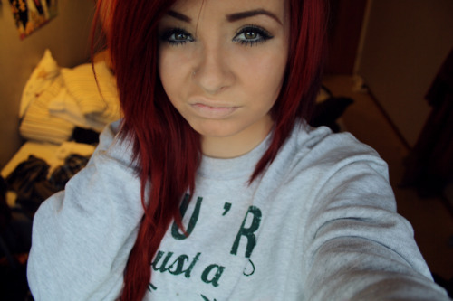 cumfort, girl, hair, red hair
