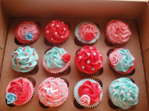 cupcakes, cute, food, lovely, yummy