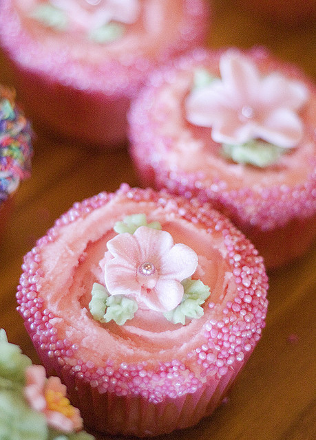 cupcakes, cute, girly, pink