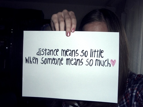 cute, distance, girl, inspiring, love, notebook, quote
