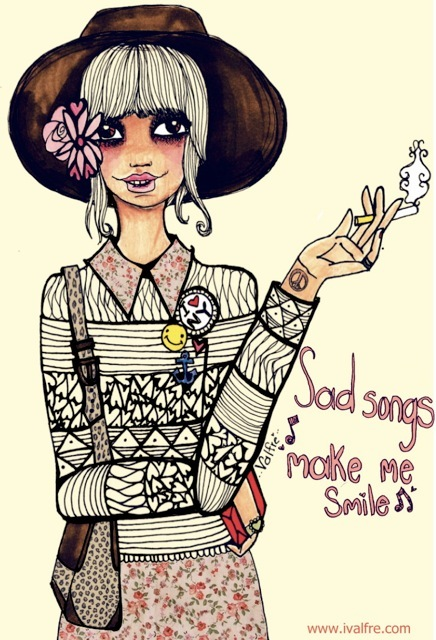 Cute Drawing Quotes Cute Drawing Fashion Floral