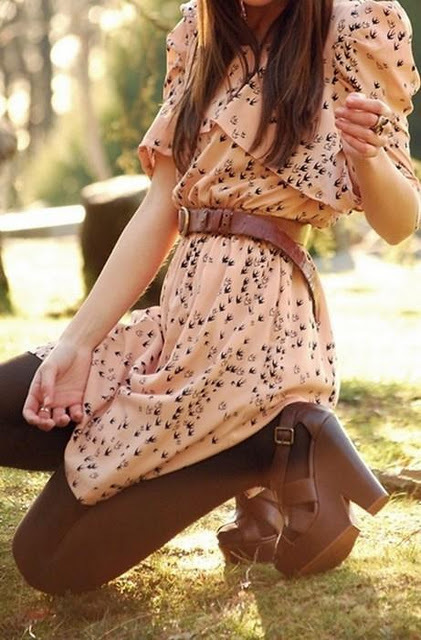 cute, dress, fashion, girl, hair, lovely, ring, shoes