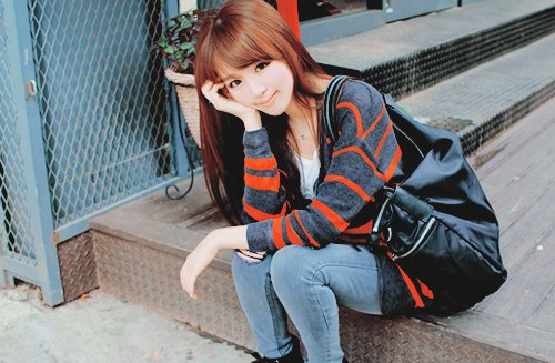 cute, fashion, girl, kfashion, kim shin yeong