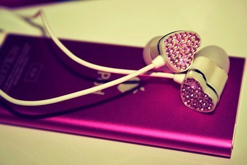 cute, fashion, heart, ipop, music, pink