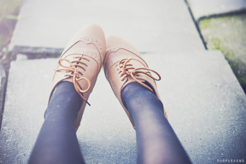 cute, fashion, lace up shoes, oxford flats, purpleasme