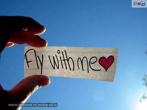 cute, fly, heart, heaven, love