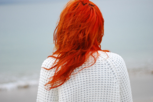 cute, girl, hair, long, nice, red, red hair