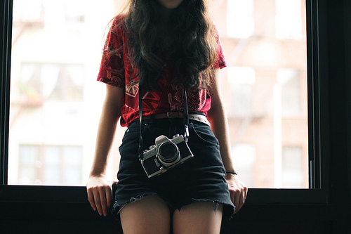 cute, girl, hair, photography, short, sweet, vintage