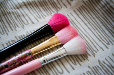 cute, girly, make up, pink, stuff