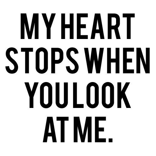 cute, heart, look, love, quote